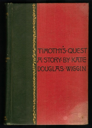 Image for Timothy's Quest
