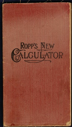 Image for Ropp's New Calculator