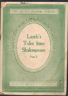 Image for Lamb's Tales from Shakespeare, Part II
