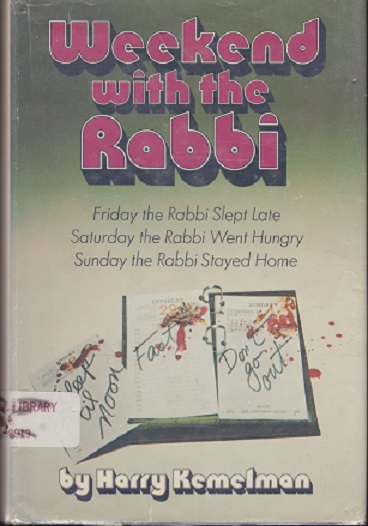 Image for Weekend with the Rabbi