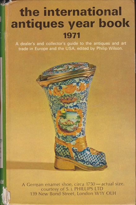 Image for The International Antiques Yearbook 1971