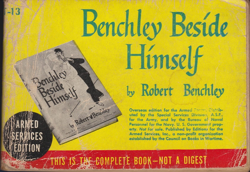 Image for Benchley Beside Himself