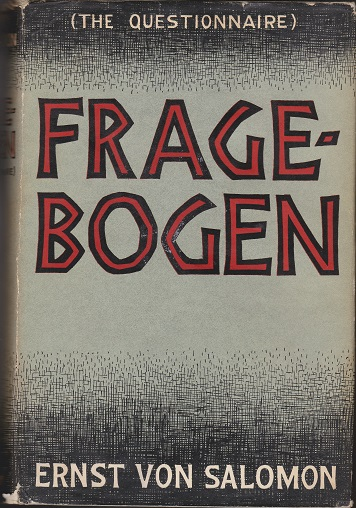 Image for Fragebogen (The Questionaire)